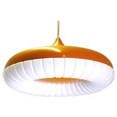 Orange Ceiling Lamp by Siemens 1960s