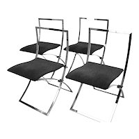Chairs Luisa by Marcello Cuneo 1970 Italy
