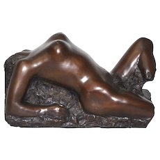 Bronze Cera Persa by Oskar Bottoli 1980