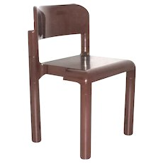 Brown Plastic Chair by Eerio Aarnio 1971/72