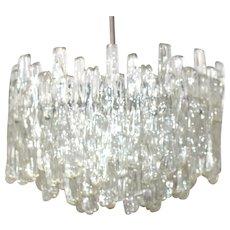 Lucite Iceglass Chandelier by J. T. Kalmar Vienna 1960s