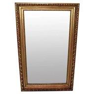 Early Biedermeier Gilded Wood Mirror c. 1825 Austria