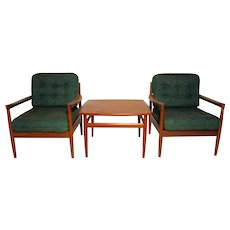 Sitting Room Set by Grete Jalk circa 1955 Denmark