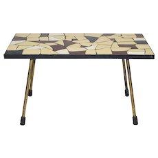 Mid Century Modern Side Table Vienna 1950