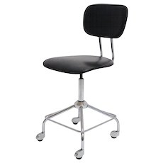 Black Swivel Chair by Egon Eierman, Germany,  1950s