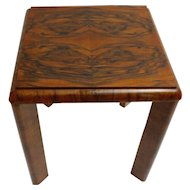 Austrian Art Deco Side Table circa 1930