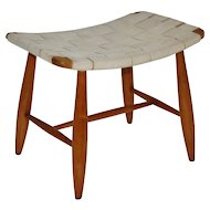 Austrian Art Deco Stool attr. to Josef Frank for Haus and Garten 1925