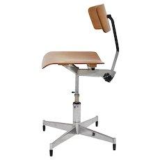 Swiveling Desk Chair by Jorge Rasmussen 1950s Denmark