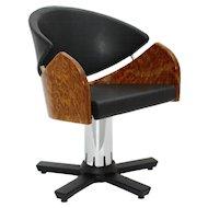 Modern Swiveling Chair by Matheo Grassi Italy circa 1990