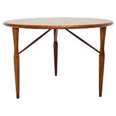 Cherry Wood Coffee Table by Josef Frank attr. Svenskt Tenn 1950s Sweden