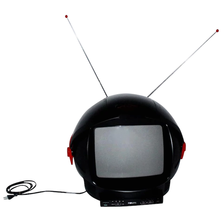Television Discoverer by Philips 1980s