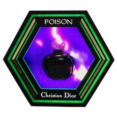 Multicolored Octagonal Billboard Light for Christian Dior 1985