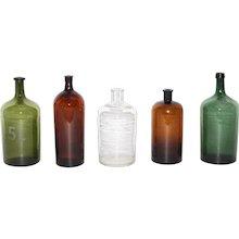 Art Deco Glass Bottles 1920s Austria