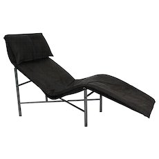 Grey Chaise Longue by Tord Bjorklund 1970 Sweden