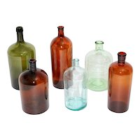 Art Deco Glass Bottles 1920s Austria