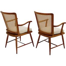 Pair of Viennese Armchairs by Josef Frank circa 1928