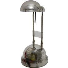 Transparent Halogen Acrylic Desk Lamp 1980s