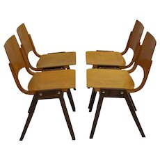 Stacking Chairs P7 by Roland Rainer 1952 Vienna