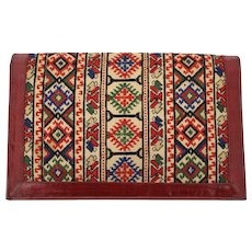Multicolored Clutch 1930s Eastern Europe