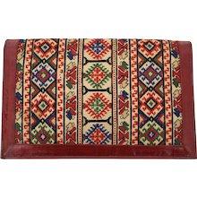 Multicolored Clutch 1930s Eastern Europe