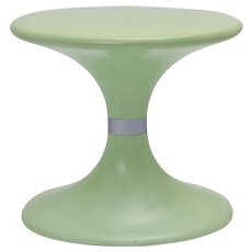 Mint colored Plastic Stool by Carrara & Matta Torina Italy circa 1970