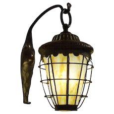 Pair of Tiffany Studios Lanterns