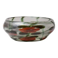 Tiffany Studios Favrile Glass Decorated Paperweight Vase