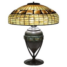Tiffany Studios Turtle Back Table Lamp