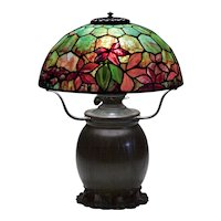 Tiffany Studios 'Woodbine' Table Lamp