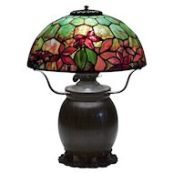 Tiffany Studios 'Woodbine' Table Lamp