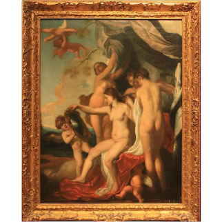 The Toilet of Venus Painting after Johann Liss