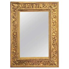Italian Louis XVI Gilt Wood Mirror