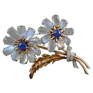 American Flower Brooch - Marcus & Co 1939