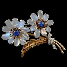 American Flower Brooch - Marcus & Co 1939