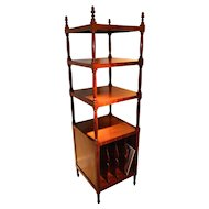 English Early 19th Century Sheraton Shelves