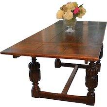 Elizabethan Style Draw Table