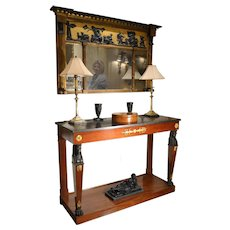 French Directoire Console, Ca. 1810.