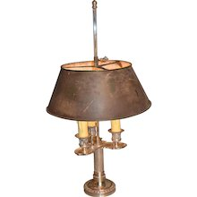 19th Century French Bouillotte Lamp