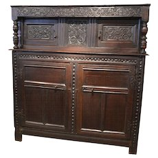 English 17th Century Court Cupboard