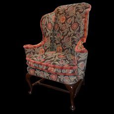 "18th Century ""Queen Anne"" Wing Chair"
