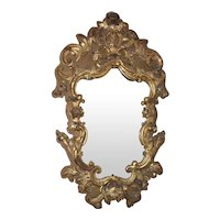 Italian 18th Century Rococo Mirror
