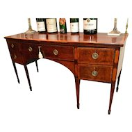 George III Inlaid Sideboard