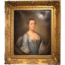 Oil Portrait of Madame L' Strange