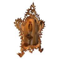 French rococo pier mirror, 18th century