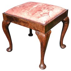 Queen Anne Stool, 18th Century