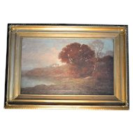 Barbizon school landscape, 19th century