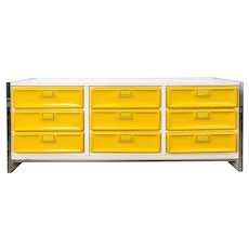 20th Century american design chest of drawers