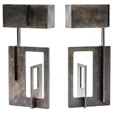 Angelo Brotto pair of lamps