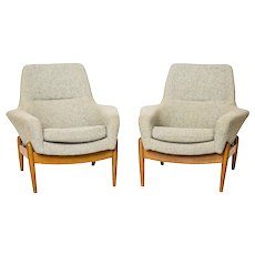 IB Kofod-Larsen pair of armchairs