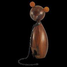 Wooden Dancing Bear - Workshop Hagenauer Vienna - 1950s